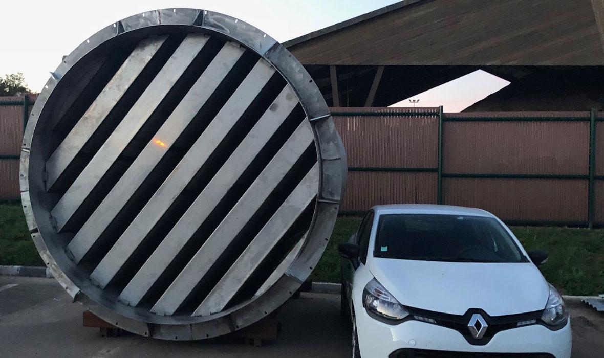 Silencieux cheminée industrielle - ANS métallerie