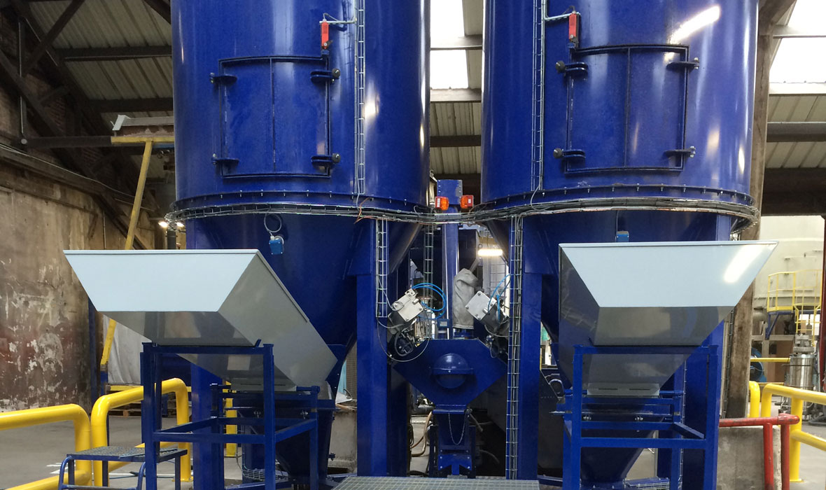 goulotte secteur industriel - ANS métallerie