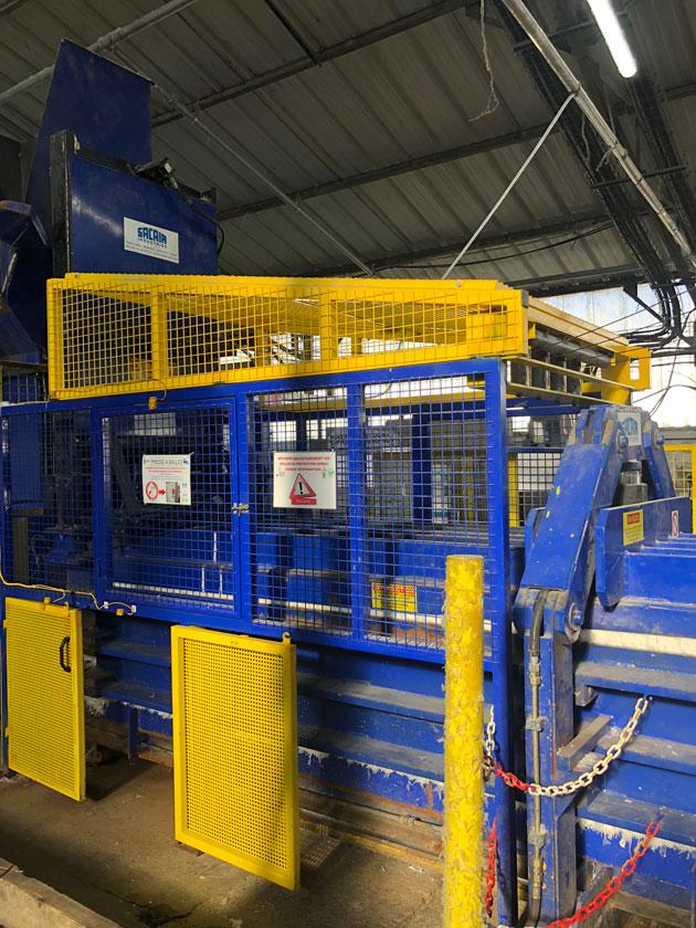 Transfert de machine industrielle - ANS