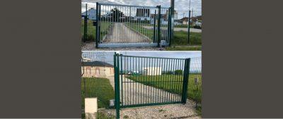 Portail galvanisé-ANS-Métallerie